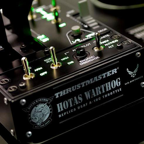 joystick hotas warthog profissional thrustmaster