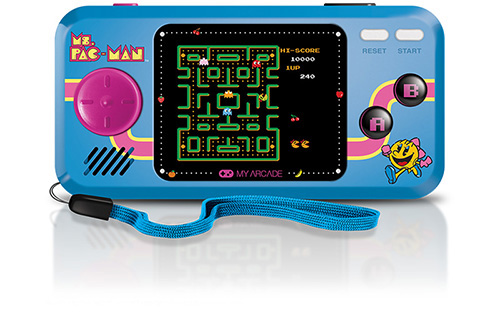 my arcade mini video game ms pac man