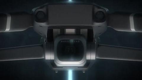 vídeo com drone dji mavic 2 pro