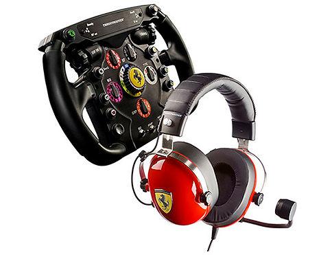 kit volante acessorios scuderia ferrari thrustmaster