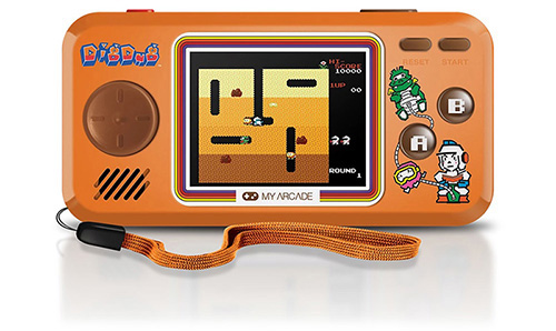 my arcade mini video game dig dug