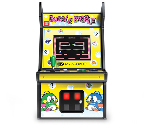 fliperama portatil bubble bobble