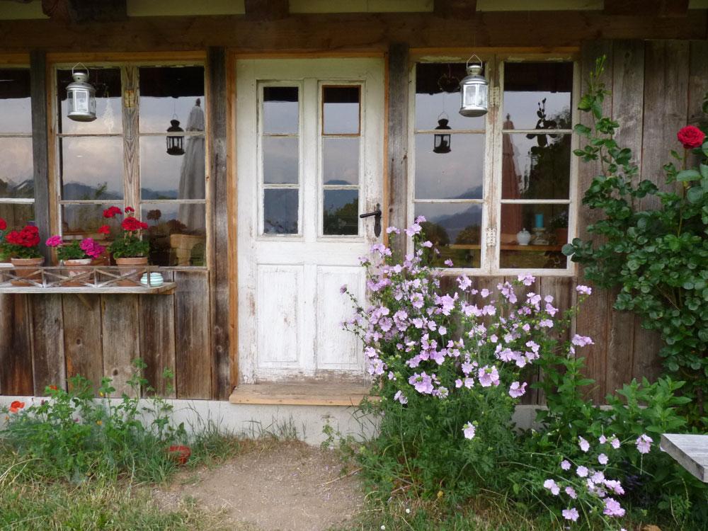Bauernschank-Eingang