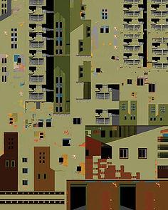 Crowded Isolation, © 2014 Olga Morris