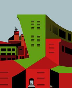 Parading Contempt, 2011, 60 x 49 cm, Ed. of 5, Digital painting