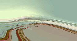 Glacial Light, 2013, 40 x 75 cm, Ed. of 5, Digital painting.