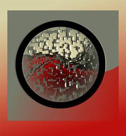 Conundrum 1, 2008, 53 x 49 cm, Ed. of 10, Digital painting
