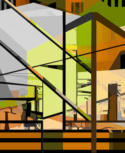 Reconstructed 1, 2011, 60 x 49 cm,  Ed. of 5, Digital painting