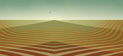 Encroaching Desert, 2008, 30 x 65 cm, Ed. of 8, Digital paintig