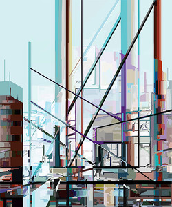 Untitled, 2011, 60 x 50 cm,  Ed. 2 of 5, Digital painting