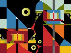 Modern  Living 2, 2007, 75 x 56.5 cm, Ed. of 10, Digital painting