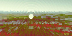 Evaporating in Full View, 2013, 35 x 70 cm, Ed, of 5, Digital painting