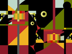 Modern Living 4, 2007, 75 x 56.5 cm, Ed. of 10, Digital painting