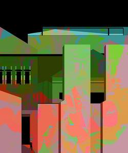 Contempory Landscape, 2014,  60 x 50 cm, Ed. of 5, Digital painting