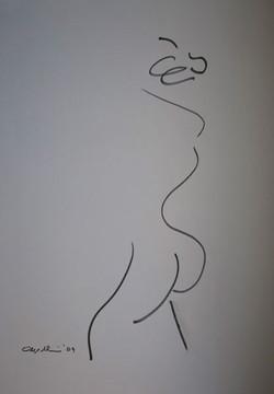 2009, Ink on Cartridge Paper