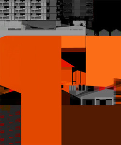 Untitled, 2012, 60 x 50 cm, Ed. of 5, Digital painting