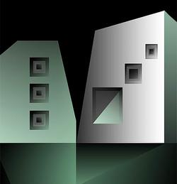 !nner Sanctum, 2009, 53 x 51 cm,  Ed. of 8, Digital pianting