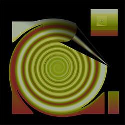 Dark Space, 2007, 35 x 35 cm, Ed. of 8, Digital painting