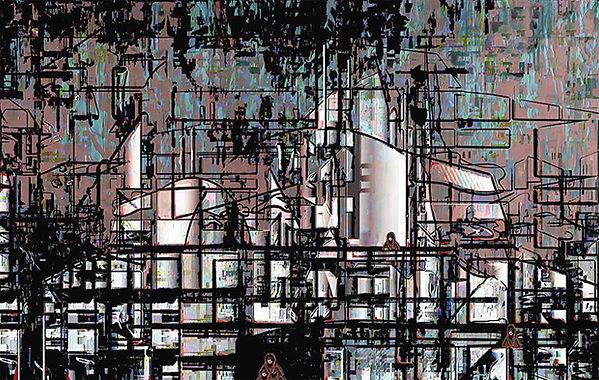 Industrial Site, © 2015 Olga Morris