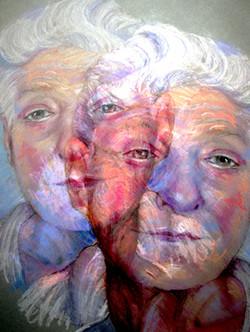 Don Morris, 2011,  50 x 38 cm, Ed. of 5, Pastel on Paper then digitized