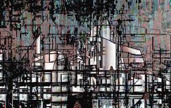 Industrial Site, 2015, 38 x 60 cm, Ed. of 5, Digital painting