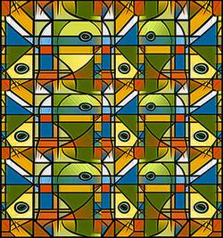 Captive, 2009, 15 x 14 cm, Ed. of 8, Digital painting