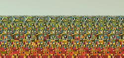 Building Blocks 3, 2008, 40 x 85 cm,  Ed. of 10, Digital painting
