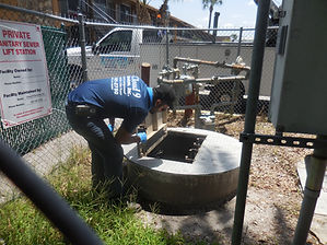 lift station cleaning and repairing services deland