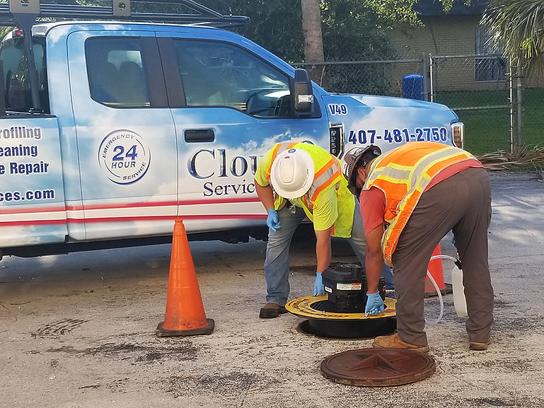 sewer smoke testing services sky lake