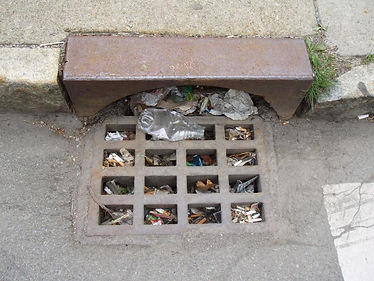 Clogged Storm Drains, Cloud 9