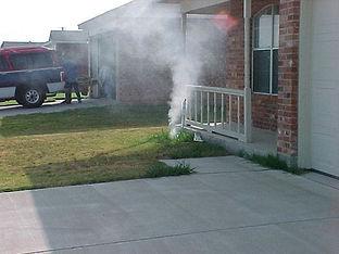 sanitary sewer smoke testing services