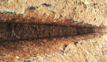 slot trenching excavation