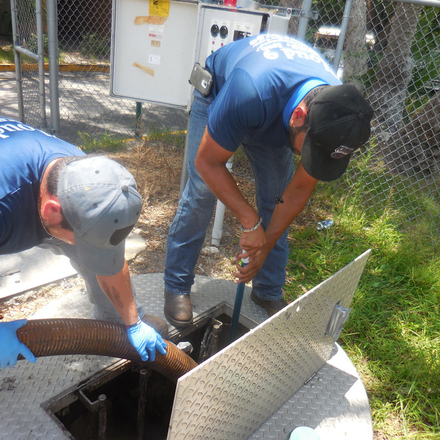 Lift Station Cleaning Orlando