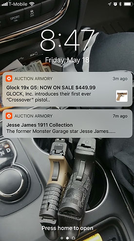 auction armory push notifications