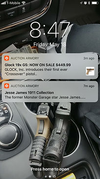 auction armory notifications