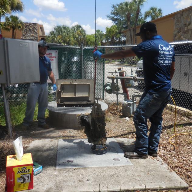 Lift station pump Repair