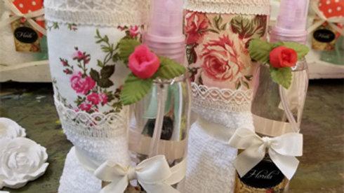 T21 - Set Toalla + Perfume textil floral