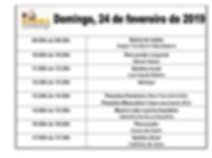 Cronograma Só Samba
