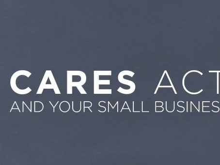 2020 CARES ACT for Small Business Employer-FAQ's