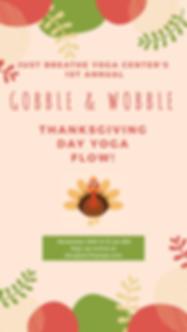 Thanksgivng Day Yoga Flow