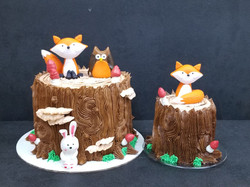 Fox and Friends Cake