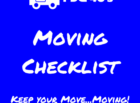 Essex County's Moving Checklist