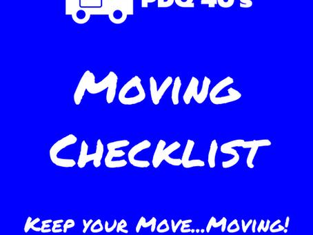 Essex County's Moving Checklist