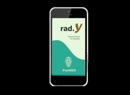 Pangeo rad.Y  -  novo app gratuito de busca de poços de captação
