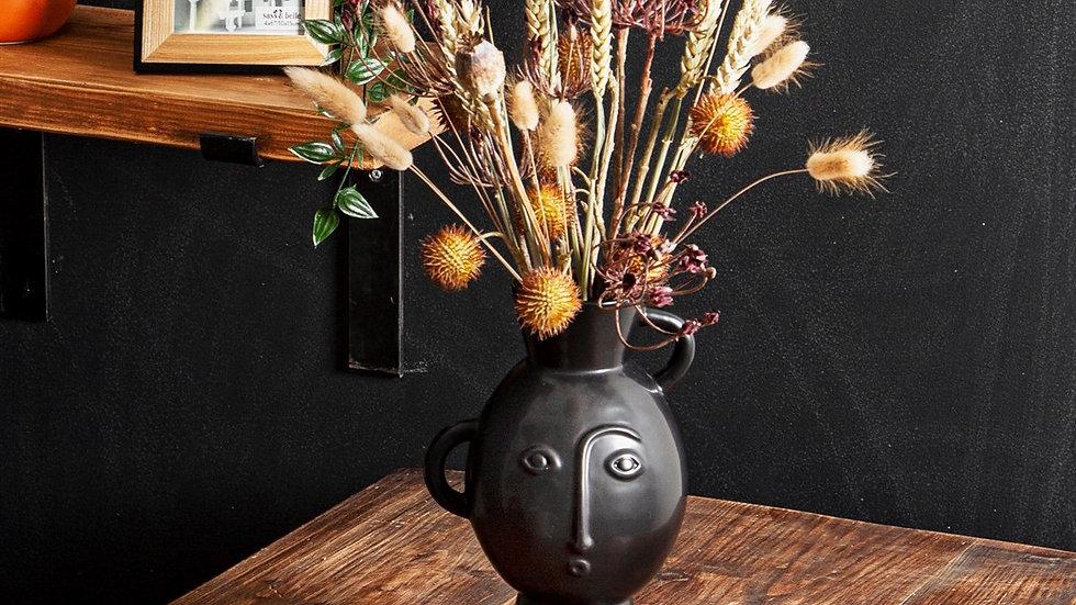Black Amira Vase