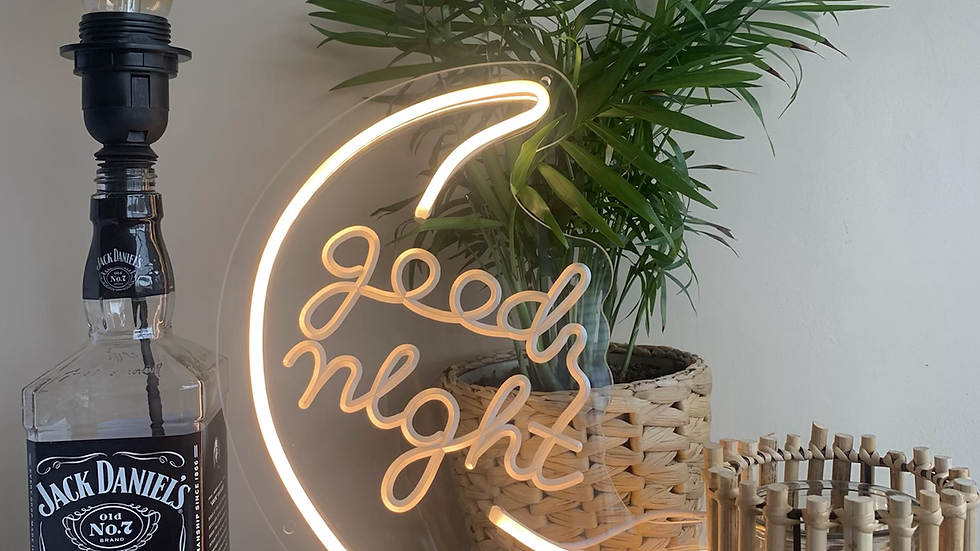 Good Night Neon Light