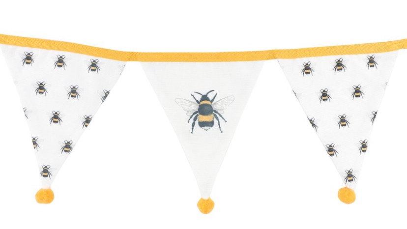 Bee Fabric Bunting