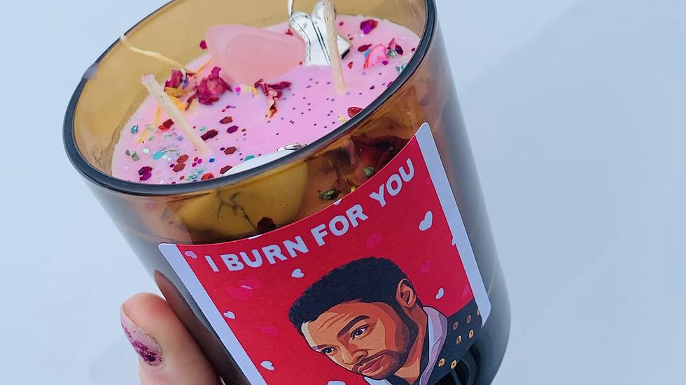 I Burn For you Bridgerton Candle