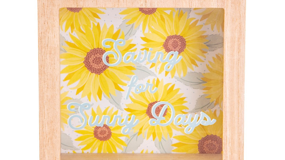 Sunflower Money Box
