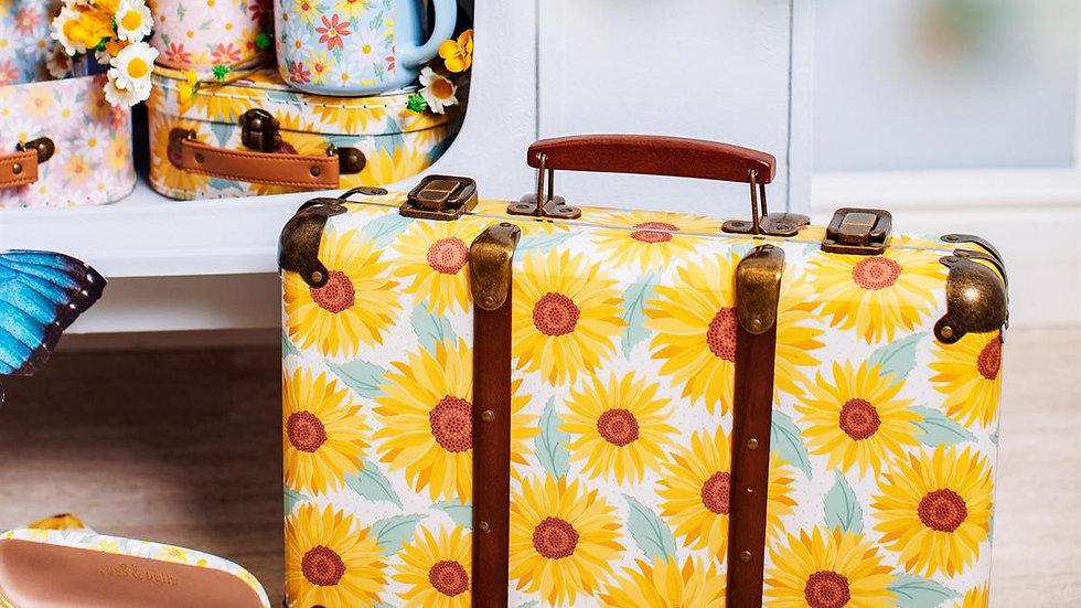 Sunflower Suitcase